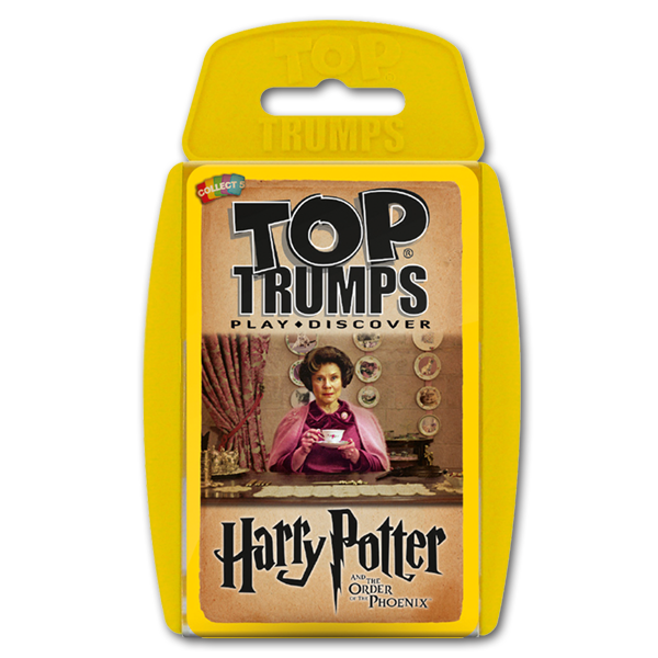 in Harry Potter and the Order of the Phoenix Top Trumps