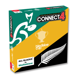 The Wallabies Vs. the All Blacks in Bledisloe Cup Connect 4!