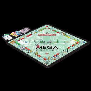 Mega Monopoly gameboard