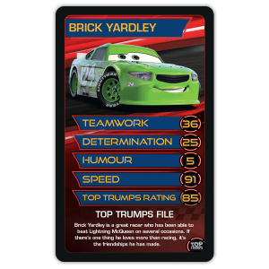Top Trumps Winning Moves Customised Games - Sports cars top trumps