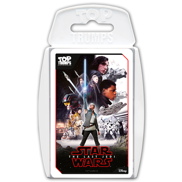 Discover the next chapter of the Skywalker saga in Star Wars The Last Jedi Top Trumps!