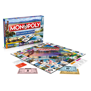 Wellington Monopoly gameplay