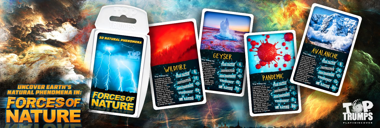 Forces of Nature Top Trumps