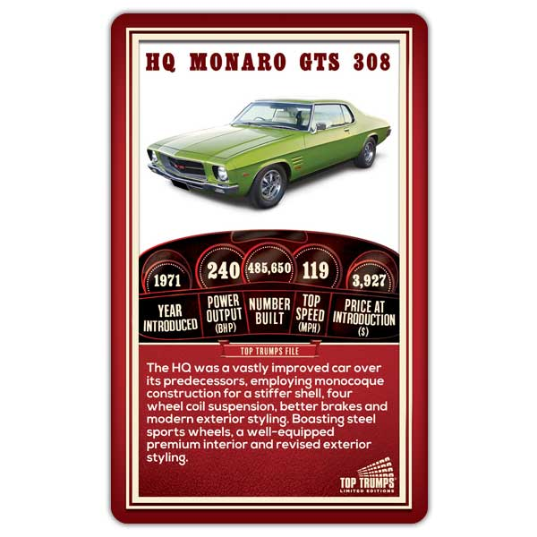 Holden Top Trumps