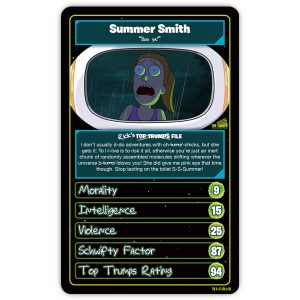 Rick and Morty Top Trumps