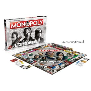 The Walking Dead AMC Monopoly