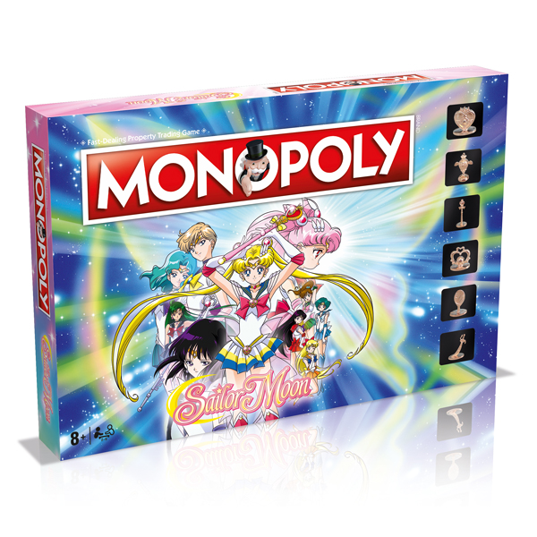 Sailor Moon Monopoly - Winning Moves - Customised Games