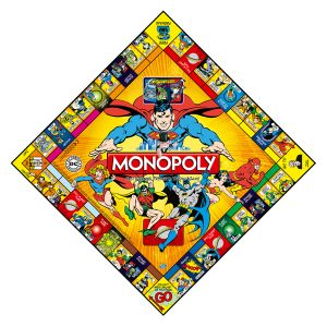 DC Comics Originals Monopoly