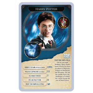 Harry Potter 30 Wizards & Witches Top Trumps