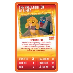 Lion King Top Trumps