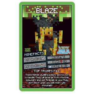 The Independent and Unofficial Guide to Minecraft Top Trumps