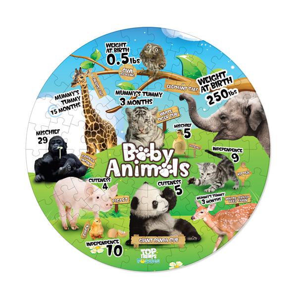 Baby Animals Top Trumps Puzzle