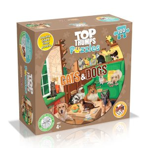 Cats & Dogs Top Trumps Puzzle