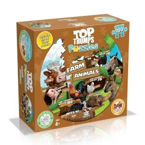 Farm Animals Top Trumps puzzle