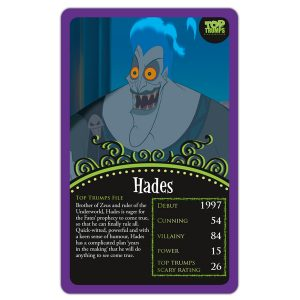 Disney Villains Top Trumps