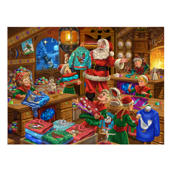 Christmas Jumpers puzzle