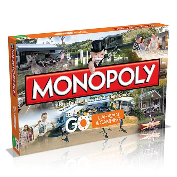 Caravan & Camping Monopoly
