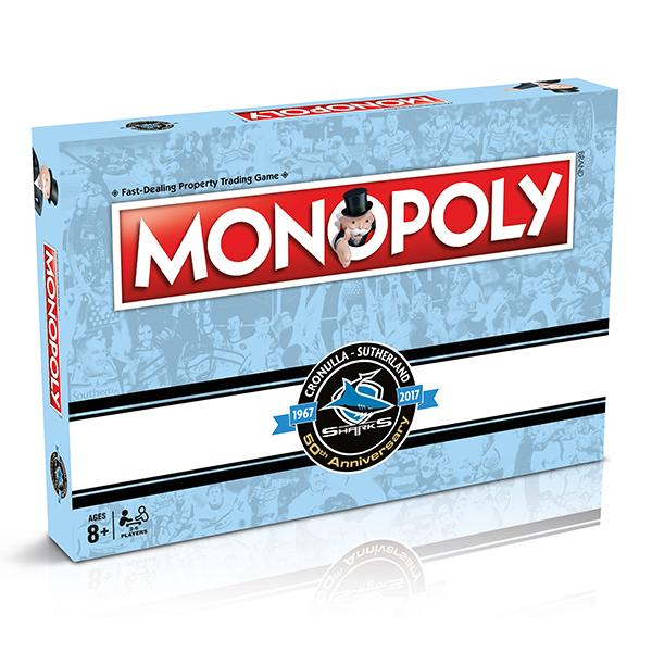 Cronulla Sharks Monopoly
