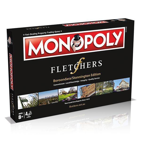 Fletchers Boroondara Stonnington Monopoly