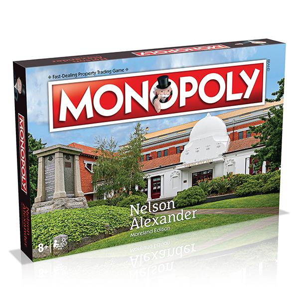 Nelson Alexander Moreland Monopoly