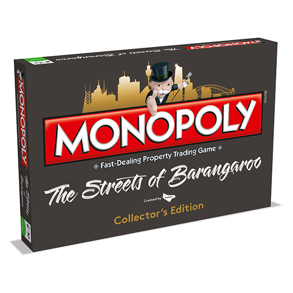 The Streets of Barangaroo Monopoly