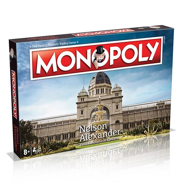 Nelson Alexander Yarra & Melbourne Monopoly