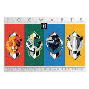 Harry Potter House Crests Puzzle