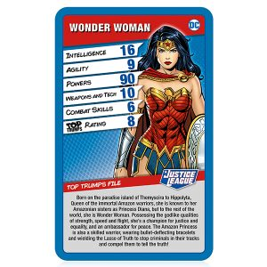 Justice League Top Trumps