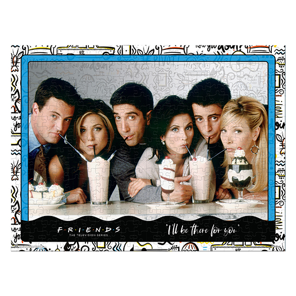 Friends Milkshake Puzzle