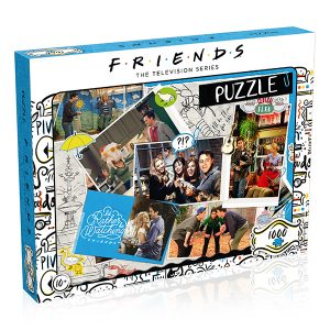 Friends Scrapbook Puzzle