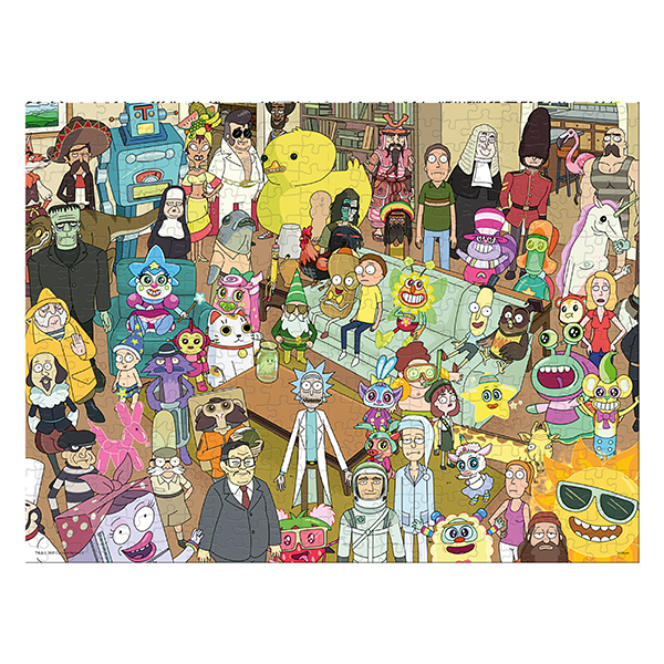 Rick and Morty 1000-Piece Puzzle