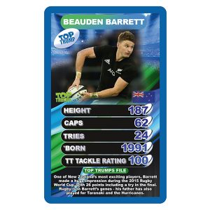 World Rugby Stars Top Trumps