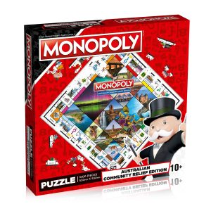 Australian Community Relief Monopoly Puzzle