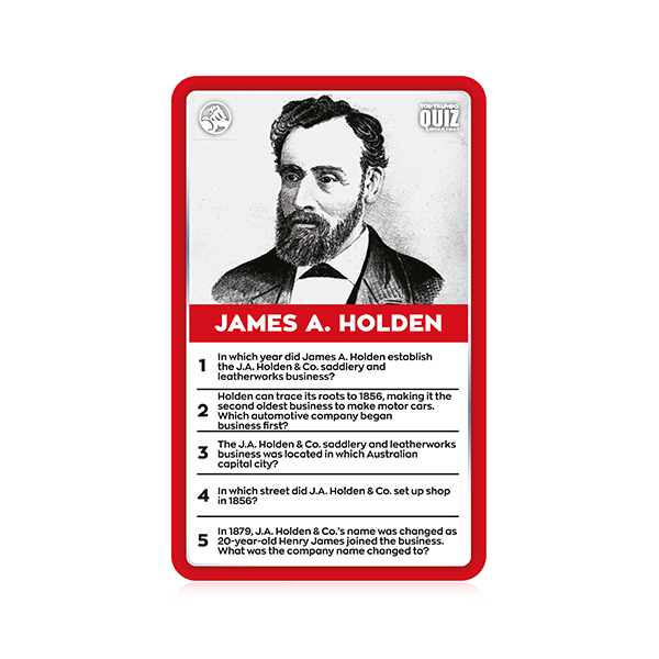 Holden Quiz