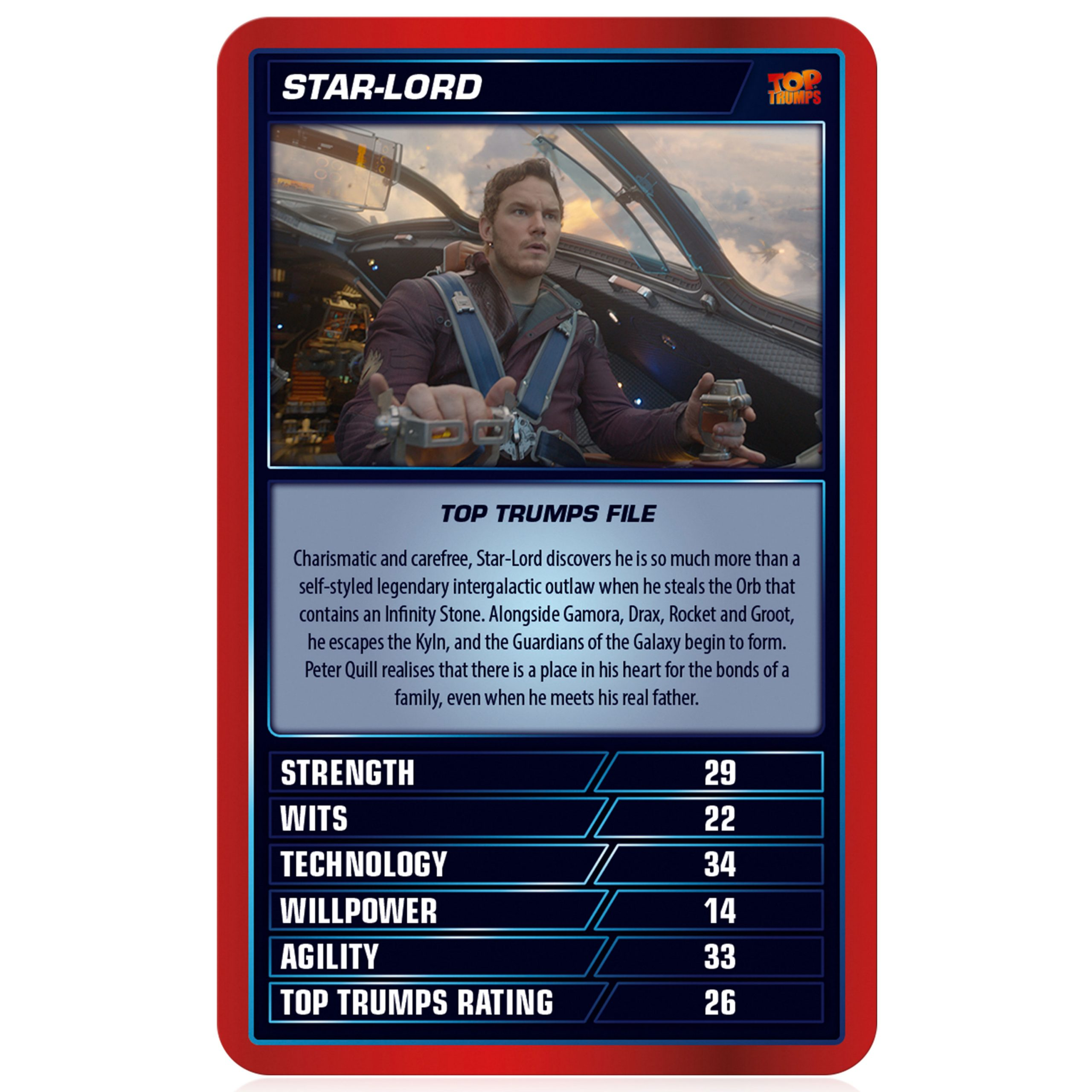 Marvel Cinematic Universe Top Trumps