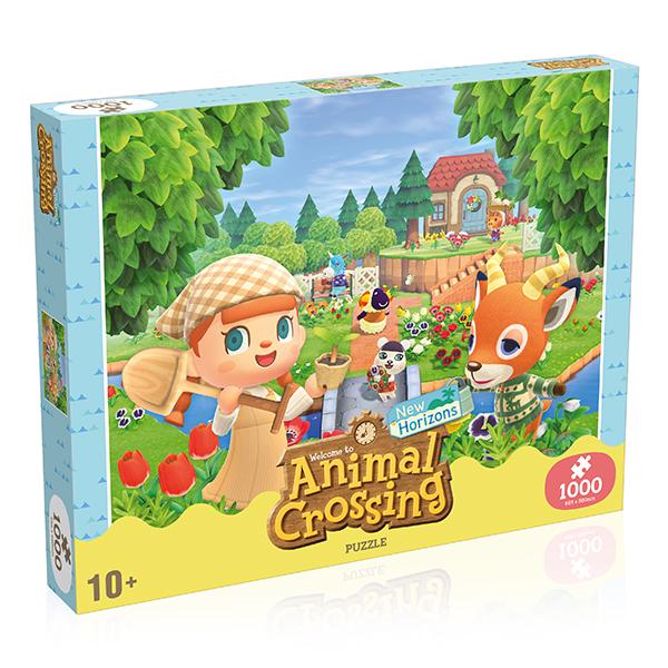 Animal Crossing 1000-Piece Puzzle