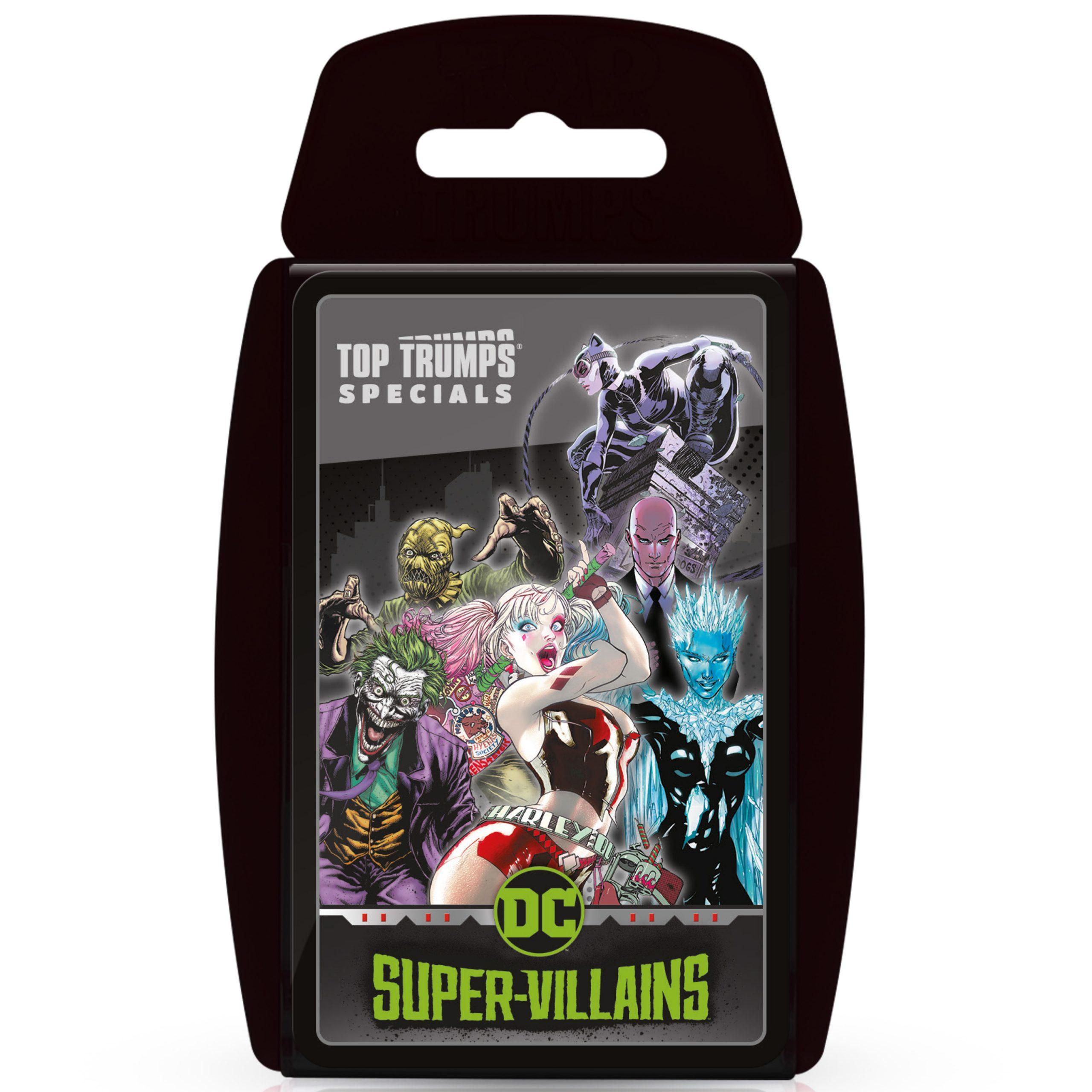 DC Super Villains Top Trumps
