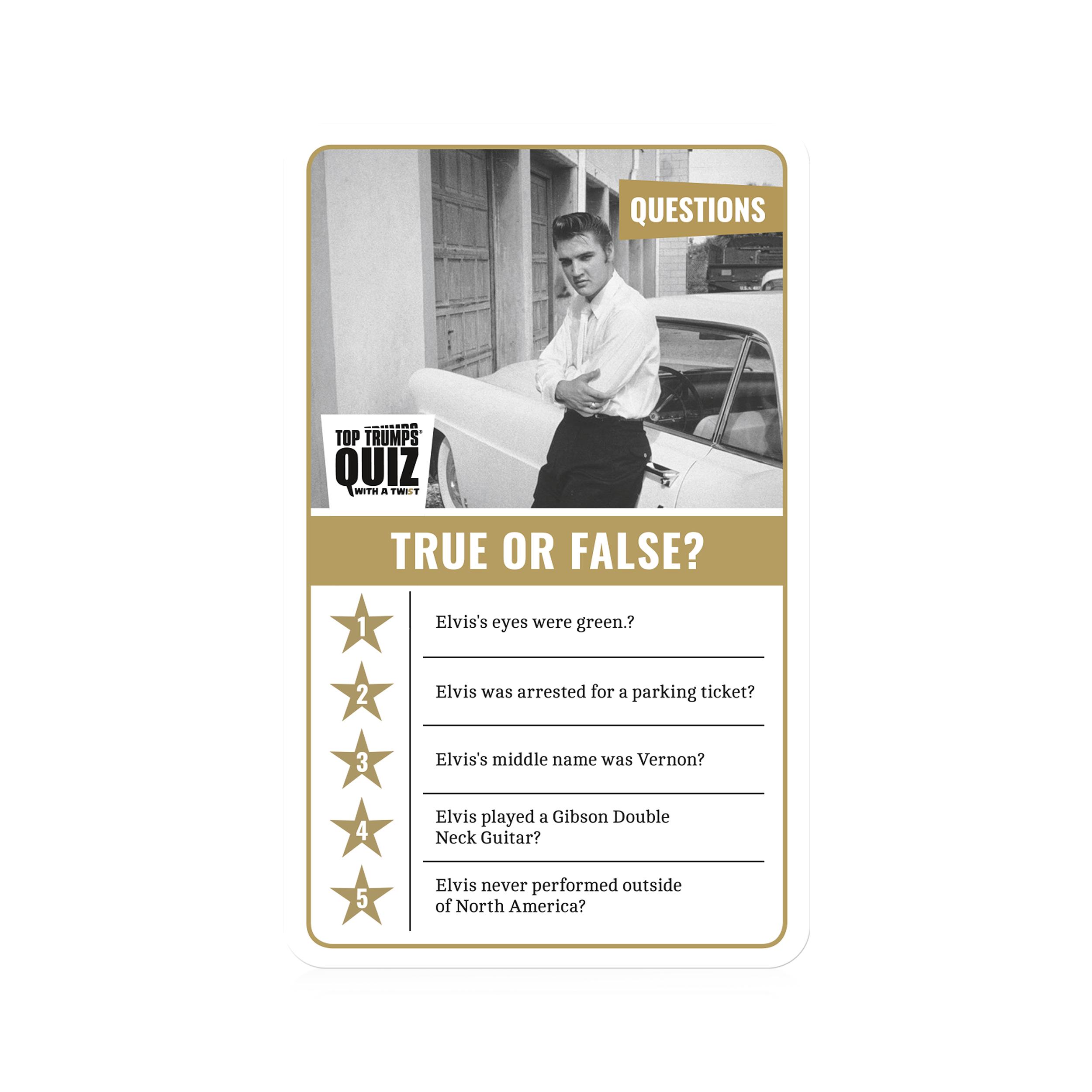 Elvis Quiz
