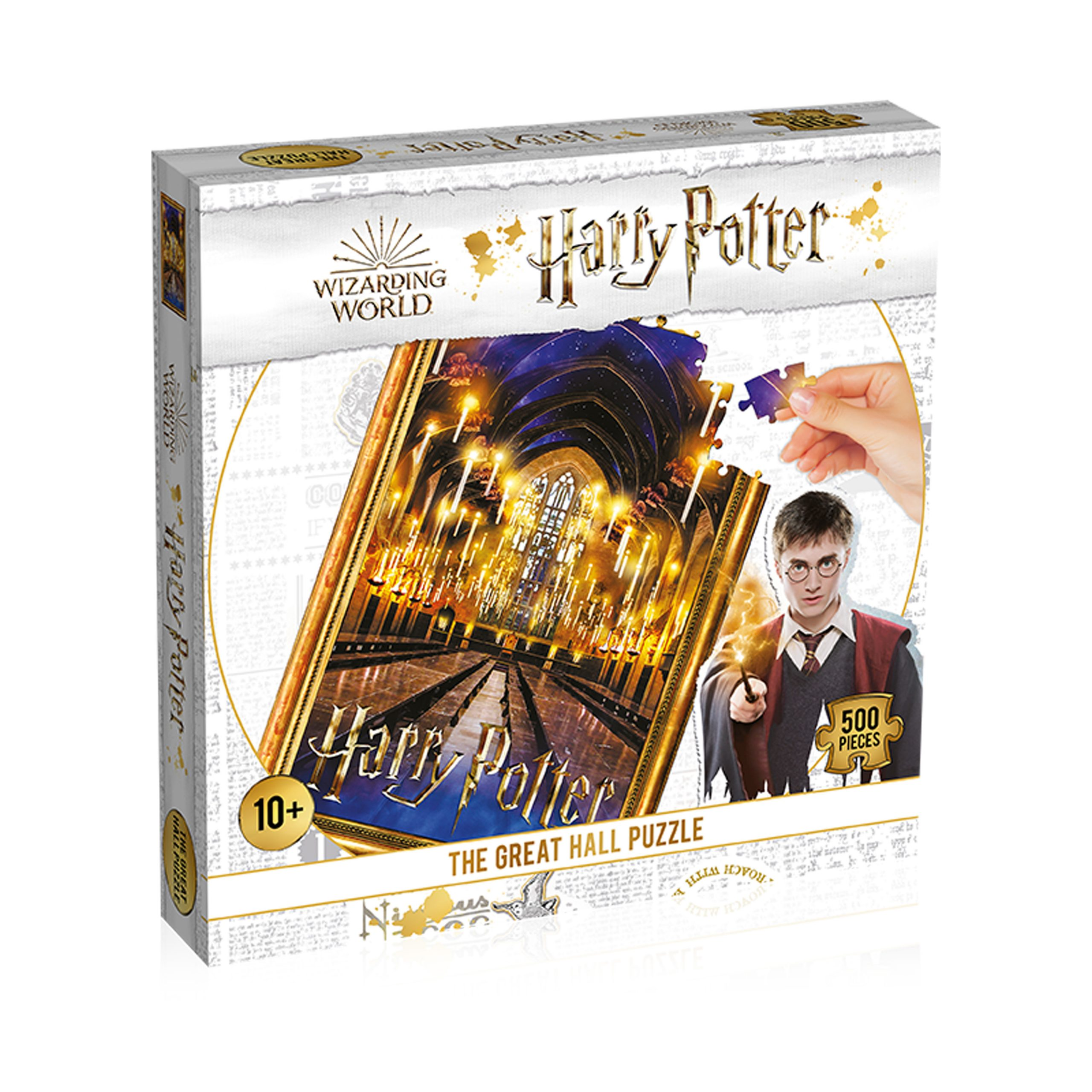 Harry Potter The Great Hall 500-Piece Puzzle