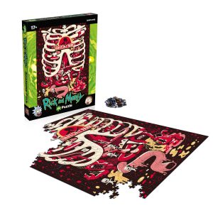 Rick and Morty Anatomy Park 1000-Piece Puzzle