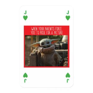 The Mandalorian The Child Playing Cards