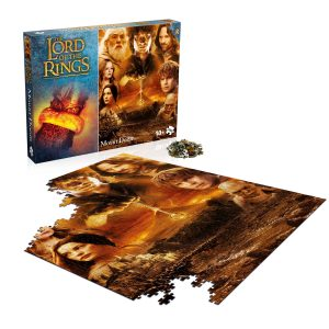 The Lord of the Rings Mount Doom 1,000-Piece Puzzle