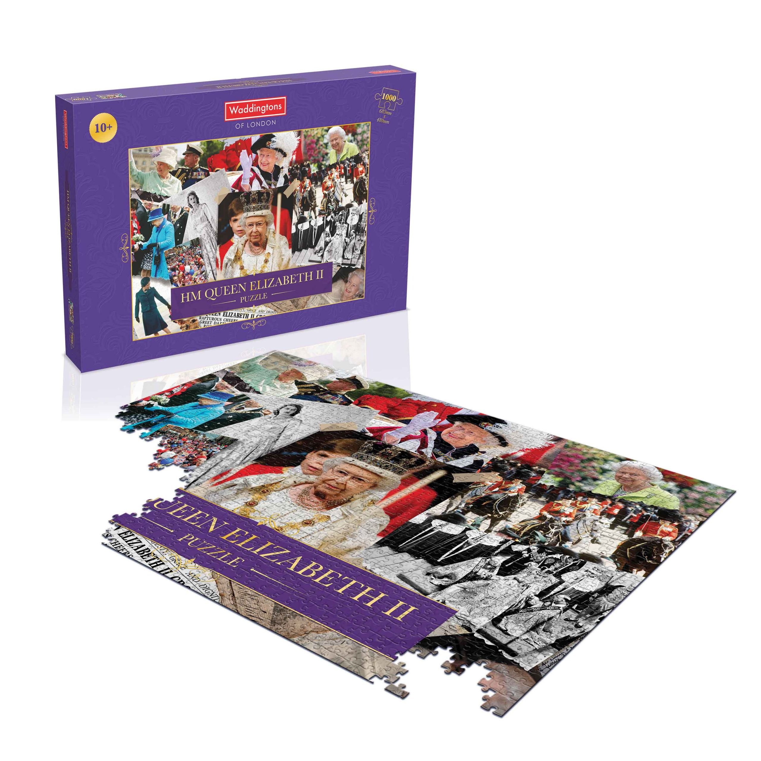 HM Queen Elizabeth II 1000-Piece Puzzle