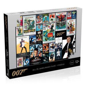 James Bond Movie Posters 1000-Piece Puzzle
