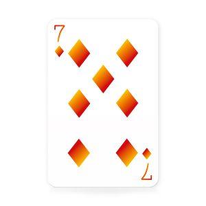Rainbow Waddingtons Number 1 Playing Cards