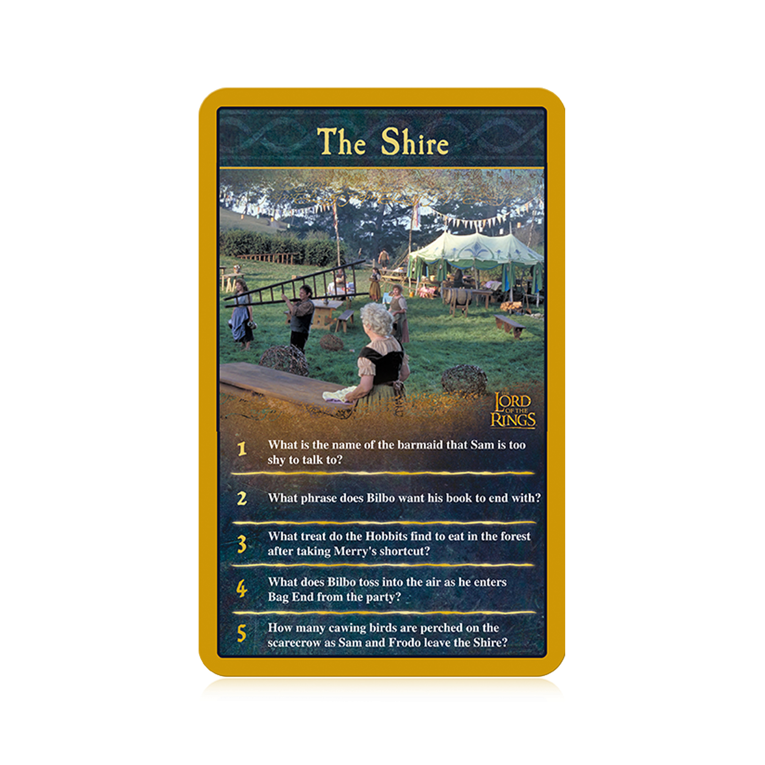 The Lord of the Rings Top Trumps Quiz